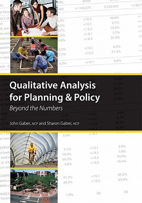 Qualitative Analysis for Planning and Policy By Gaber, John/ Gaber, Sharon